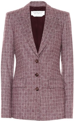 Gabriela Hearst Olga checked wool-blend blazer