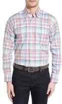 Robert Talbott Anderson Classic Fit Plaid Twill Sport Shirt