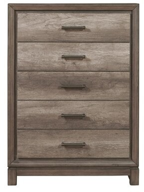 Gracie Oaks Pinehur 5 Drawer Chest Gracie Oaks