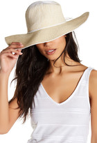 David & Young Two-Tone Ombre Wide Brim Hat