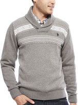 U.S. Polo Assn. Long-Sleeve Fairisle Sweater