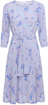 2nd Day 2ND June Camo fit and flare dress in orchid petal mauve - UK12 - Purple/Blue