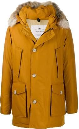 Woolrich mid-length parka coat