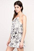 RVCA Women's Elixir Jersey Halter Neck Dress