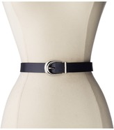 "Lauren Ralph Lauren 1"" Saffiano to Smooth Reversible Belt"