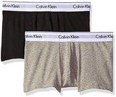 Calvin Klein Men's 2 Pack Modern Cotton Stretch Trunk