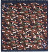 Zadig & Voltaire Delta Camou Othake scarf