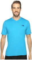 The North Face Reactor Short Sleeve V-Neck Men's Clothing