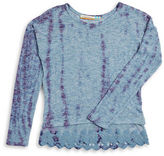 Vintage Havana Girls 7-16 Lace Accented Sweater