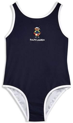 ed308422b9a0b Ralph Lauren Blue Girls' Swimwear - ShopStyle
