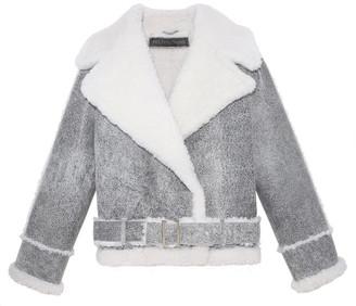 Pologeorgis The Silver Leaf Shearling Jacket