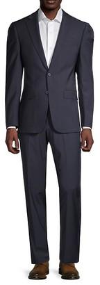 Calvin Klein Stretch Wool Suit