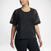 Nike Breathe Women's Training Top (Plus Size)