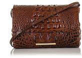 Brahmin Carina Embossed Leather Shoulder Bag