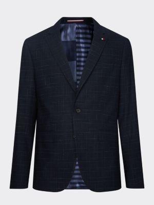 Tommy Hilfiger Essential Linen Blend Slim Fit Blazer