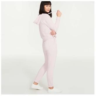 Joe Fresh Women's Terry Joggers, Light Pink (Size S)