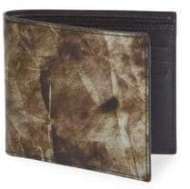 Maison Margiela Printed Leather Bi-Fold Wallet