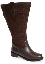 David Tate Women's 'Best' Calfskin Leather & Suede Boot