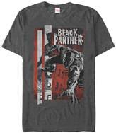 Fifth Sun Black Panther Charcoal Heather Panther Night Tee - Men & Big