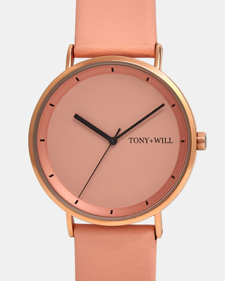 TONY+WILL - Women's Pink Analogue - Lunar - Size One Size at The Iconic