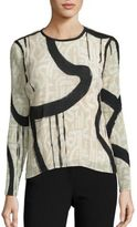 Max Mara Paste Printed Blouse