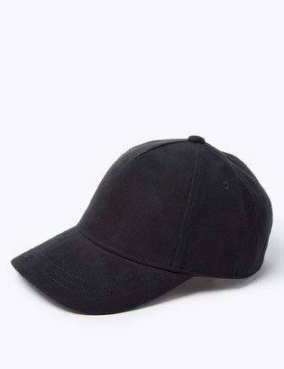 Marks and Spencer Faux Suede Baseball Cap