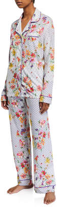Johnny Was Domoto Floral-Print Classic Pajama Set