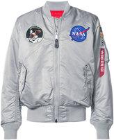 Alpha Industries reversible Nasa bomber jacket
