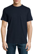 Rag & Bone Standard Issue Short-Sleeve Pocket T-Shirt, Navy