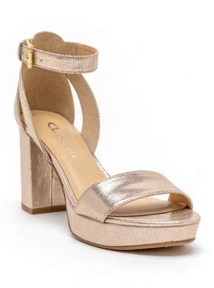 Cl By Laundry CL by Laundry Go On Platform Heel - Gold
