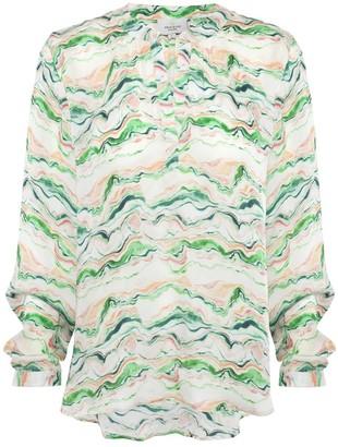 Primrose Park Sandy Open V Neck Shirt - xs