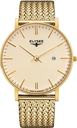 Elysee Unisex Adult Analogue Quartz Watch with Stainless Steel Strap 98003M