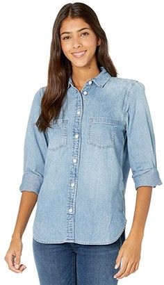 J.Crew The Everyday Chambray Top (Madera Wash) Women's Clothing