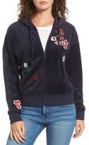 Juicy Couture Women's Sunset Velour Track Zip Hoodie