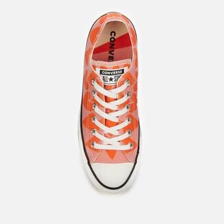 Converse Chuck Taylor All Star Ox Trainers - Pink Quartz/Magma Orange/Vintage White