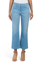 Made In Usa Sophia Flare Ankle Jeans