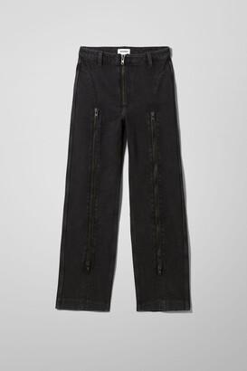Weekday Amber Jeans - Black