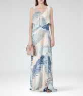Reiss Filo Printed Maxi Dress