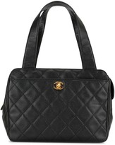 Chanel Pre Owned 1997 quilted CC tote bag