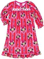"Disney Minnie Mouse Little Girls' ""Diamond Frame"" Nightgown"