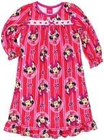 "Disney Minnie Mouse Little Girls' ""Diamond Frame"" Nightgown"