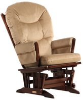 Dutailier Coffee/ Light Brown 2-post Glider