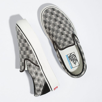 Vans Hemp Blur Checker Slip-On Platform SF