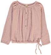 Numero 74 Naia Long Sleeve Blouse Dusty Pink