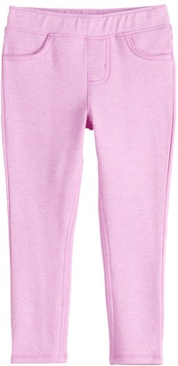 Girls 4-12 Jumping Beans Solid Jeggings