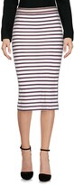 Jucca Knee length skirts - Item 35339785