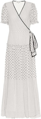 Diane von Furstenberg Breeze maxi wrap dress