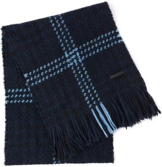 Prada Prince of Wales check scarf