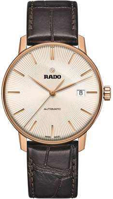 Rado Couple Stainless Steel Leather-Strap Automatic Watch