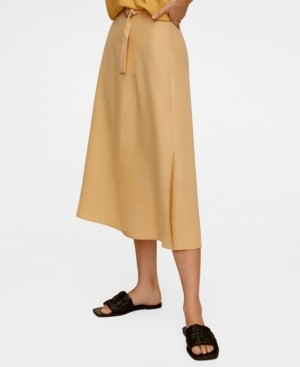 MANGO Women's Modal Skirt